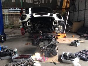 ซ่อมเครื่องยนต์มินิ