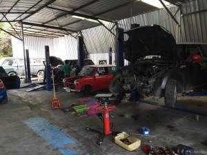 อู่ซ่อมรถ mini bmw benz