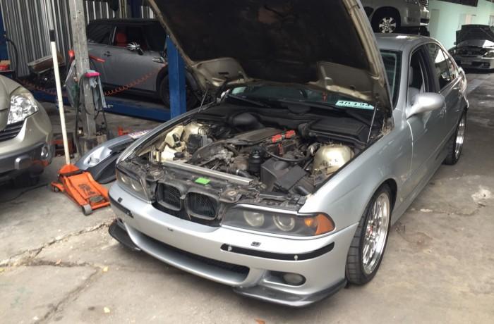 เช็คระยะ เซอร์วิส BMW Series 5