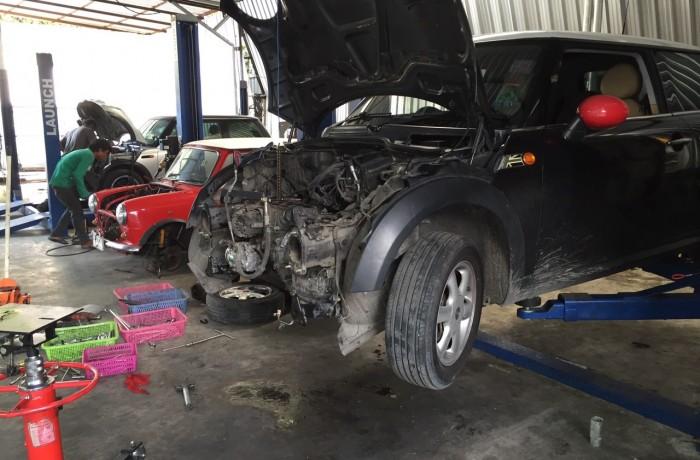 MINI Cooper S กับงานซ่อมเครื่อง