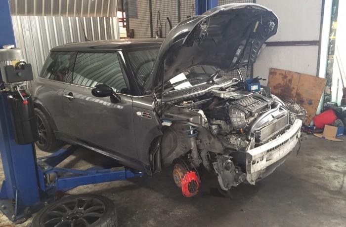 ซ่อมช่วงล่างรถยนต์ MINI R53