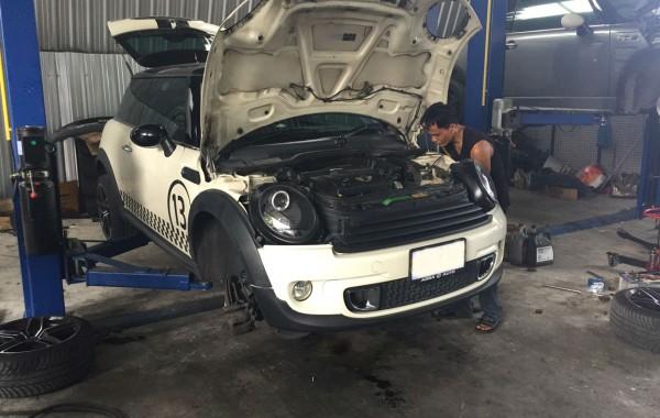 ซ่อมช่วงล่าง MINI R56
