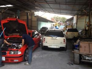 อู่ซ่อมรถ mini bmw
