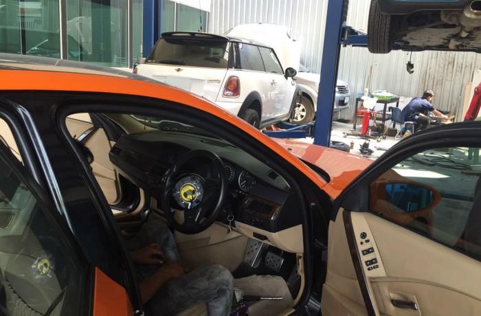 เปลี่ยน Airbag BMW